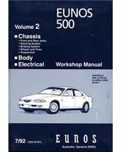 Mazda Eunos 500 CA 1992 Factory Workshop Manual: Volume 2