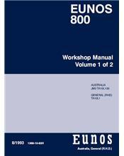 Mazda Eunos 800 TA 08/1993 Factory Workshop Manual