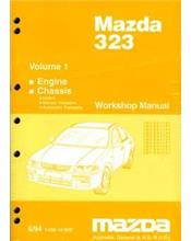 Mazda 323 & Astina BA Series 06/1994 on Factory Workshop Manual : Volume 1