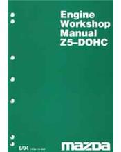 Mazda 323 BA 06/1994 Engine Factory Workshop Manual Supplement
