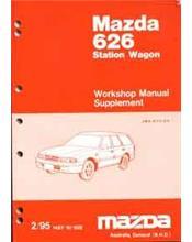 Mazda 626 GV 02/1995 Station Wagon Factory Workshop Manual Supplement