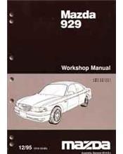 Mazda 929 HE 12/1995 Factory Workshop Manual