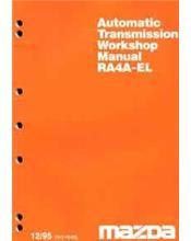 Mazda 929 12/1995 Transmission Factory Workshop Manual Supplement