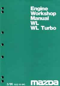 Mazda B Series 03/1996 WL & WL Turbo Diesel Engine - Front Cover