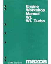 Mazda B Series 03/1996 WL & WL Turbo Diesel Engine Manual Supplement