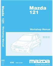 Mazda 121 (DW) 08/1996 Factory Workshop Manual