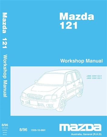 Mazda 121 (DW) 08/1996 Factory Workshop Manual - Front Cover