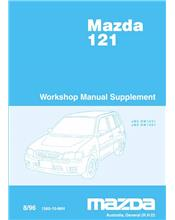 Mazda 121 DW 08/1996 Engine Factory Workshop Manual Supplement