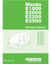 Mazda E Series 04/1997 - 1999 Factory Workshop Manual