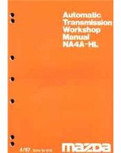 Mazda E Series 10/1997 Transmission Factory Workshop Manual Supplement