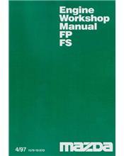 Mazda Premacy 04/1997 FS & FP Engine Overhaul Factory Workshop Manual Supplement