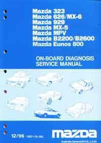 Mazda On Board Diagnostic Factory Service Manual Supplement - Front Cover