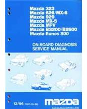 Mazda On Board Diagnostic Factory Service Manual Supplement