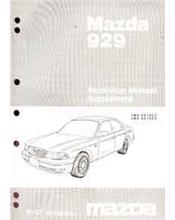 Mazda 929 HE 10/1997 Factory Workshop Manual Supplement