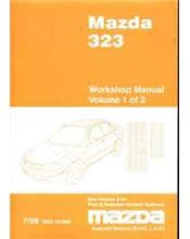 Mazda 323 BJ 07/1998 Factory Workshop Manual