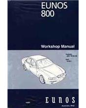 Mazda Eunos 800 TA 11/1998 Workshop Manual Supplement