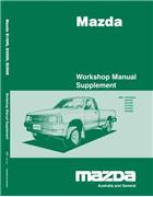 Mazda E Series 1/1999 Factory Workshop Manual Supplement - Front Cover