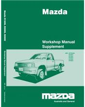 Mazda E Series 1/1999 Factory Workshop Manual Supplement