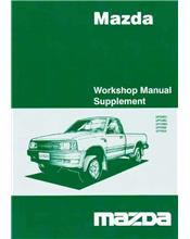 Mazda B Series 01/1999 Transmission Factory Manual Supplement