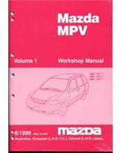 Mazda MPV LV 06/1999 Factory Workshop Manual : 2 Volume Set