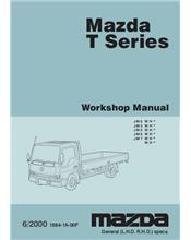 Mazda T Series 06/2000 onwards Factory Workshop Manual