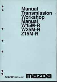 Mazda T Series 06/2000 on Transmission Factory Workshop Manual Supplement - Front Cover