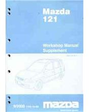 Mazda 121 (DW) 2000 Factory Workshop Manual Supplement