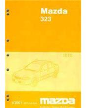 Mazda 323 BJ 01/2001 Factory Workshop Manual Supplement Incl. SP20