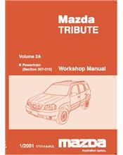 Mazda Tribute 01/2001 Factory Repair Manual : Volume 2