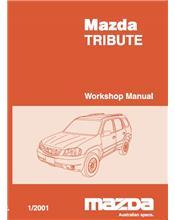 Mazda Tribute 01/2001 Factory Repair Manual : Volume 3