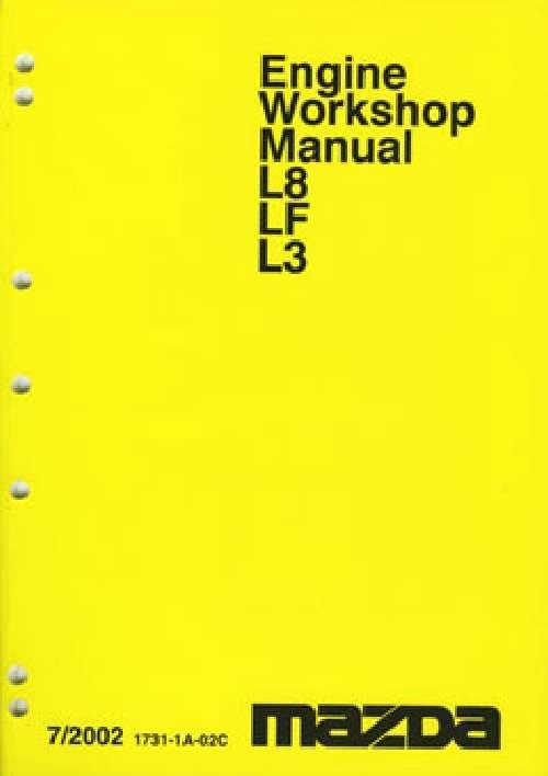 Mazda6 Engine 03/2002-on Factory Workshop Manual Supplement - Front Cover