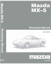 Mazda MX-5 NB 12/2001 Factory Workshop Manual Supplement