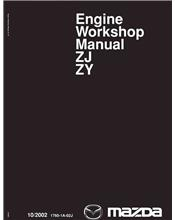 Mazda2 10/2002 Engine Factory Workshop Manual Supplement