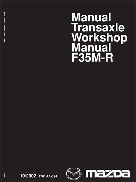 Mazda2 10/2002 Transmission Factory Workshop Manual Supplement