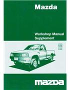 Mazda B Series 10/2002 Body Measurement Chart - Front Cover