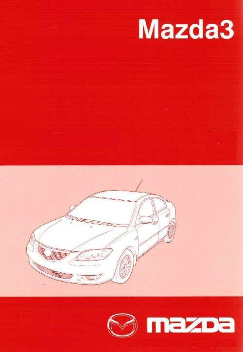 Mazda3 11/2003 Factory Workshop Manual - Front Cover