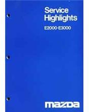Mazda E Series 1977 Factory Service Manual Supplement