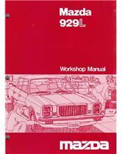 Mazda 929L 1979 Factory Workshop Manual Supplement