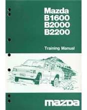 Mazda B Series 01/1985 Factory Training Manual Supplement