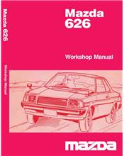 Mazda 626 1978 PDi Factory Workshop Manual Supplement