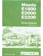 Mazda E Series 01/1984 Factory Wiring Diagram Manual Supplement - Front Cover