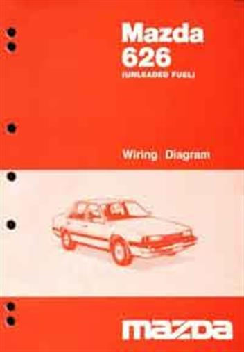 Mazda 626 gc 101985 factory wiring diagram manual supplement mazda mazda 626 gc 101985 factory wiring diagram manual supplement front cover asfbconference2016 Images