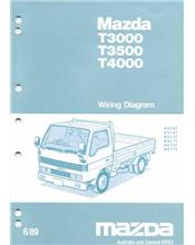 Mazda T Series (WG) 06/1989 Wiring Diagrams Factory Manual Supplement