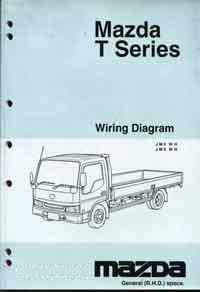 Mazda T Series 04/1992 (WG) Wiring Diagram Manual - Front Cover