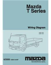 Mazda T Series 06/2000 Factory Wiring Diagram Manual Supplement