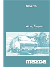 Mazda T Series 10/1981 on Factory Wiring Diagram Manual Supplement