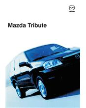 Mazda Tribute Wiring Diagrams 01/2001 On Factory Manual Supplement