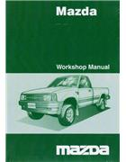 Mazda B Series 10/2002 Factory Wiring Diagram Manual Supplement - Front Cover