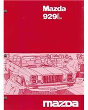 Mazda 929L Wiring Diagrams 10/1979 Factory Manual Supplement