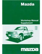 Mazda B Series V6 Wiring Diagrams 2005 Factory Workshop Manual Supplement - Front Cover
